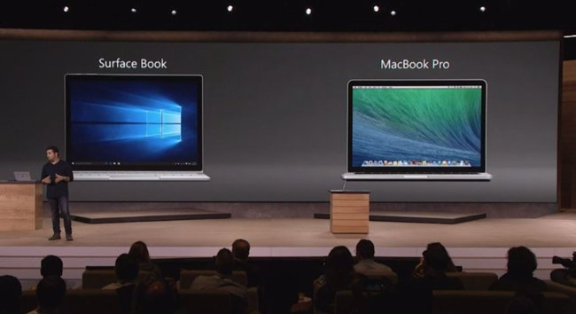 MacBook Pro vs Surface Book : Microsoft lied