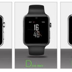 ORDRO SW25 Smartwatch Phone in Apple watch design