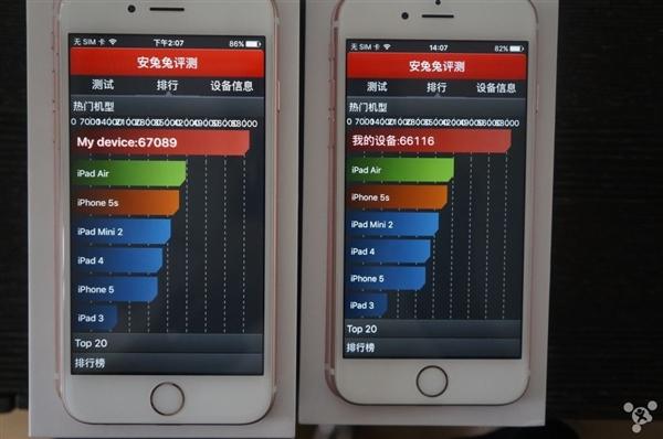 Samsung A9 vs TSMC A9 benchmark performance test 4