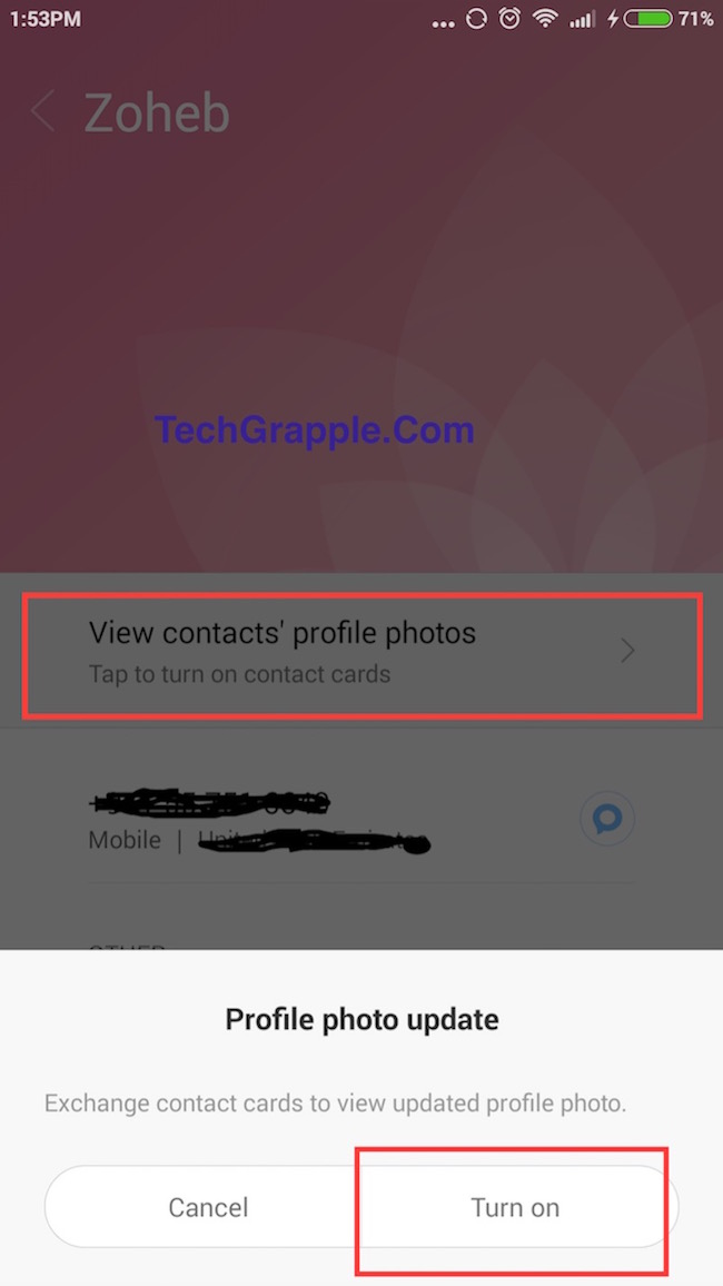 Xiaomi Smartphone MIUI 7 Showtime feature to add video in caller id