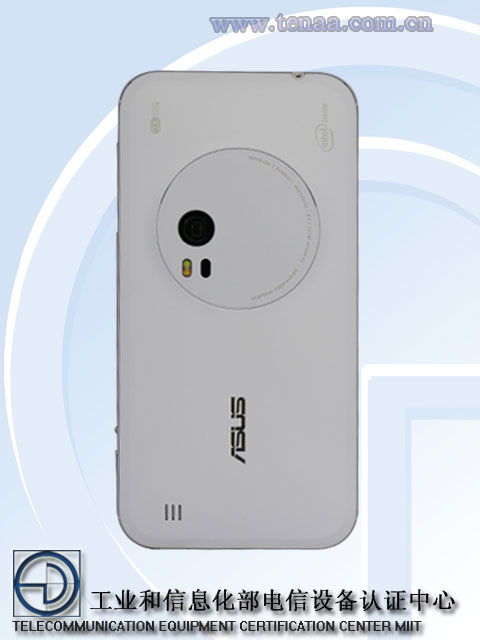 Asus Zenfone Zoom Z00XSB back