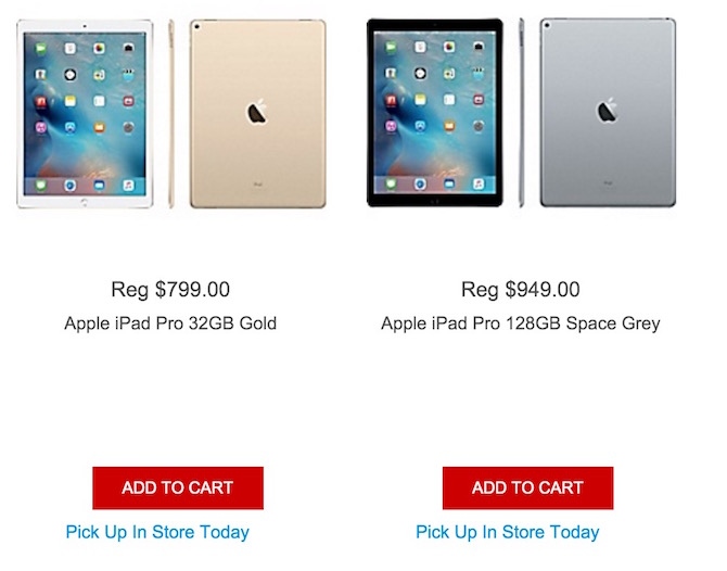 Preorder Apple iPad Pro