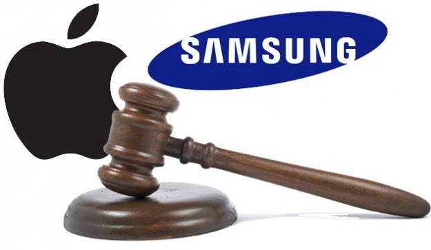 Apple and samsung patent battel