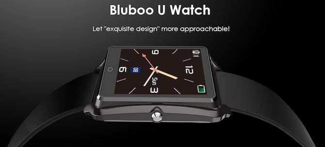 Bluboo uwatch smartwatch
