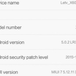 LeTV One X600 English MIUI 7 ROM: How to install and root?