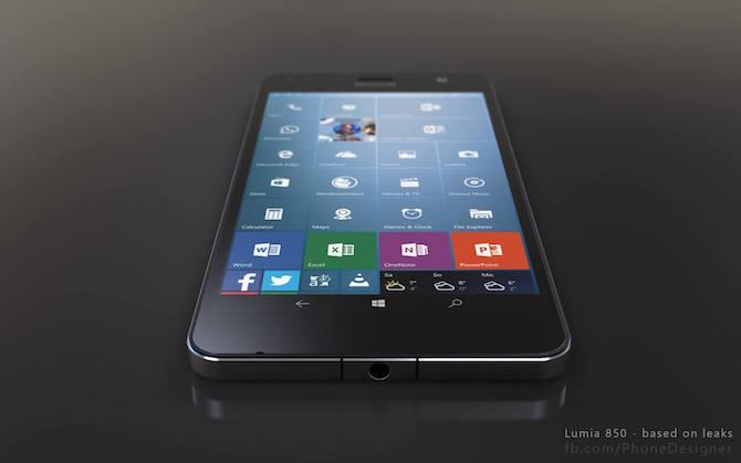 Lumia 850 concept