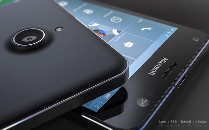 Lumia 850 leaked image