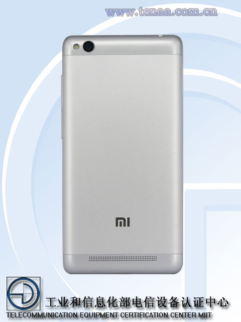 Redmi 3 Back