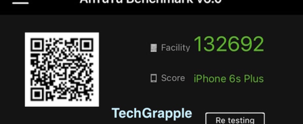 iPhone 6s Plus ANtutu 6 test score