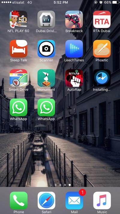 two whatsapp on ios no jailbeak