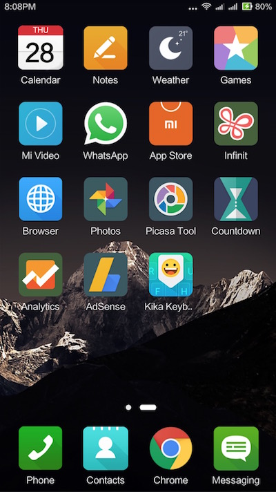 MIUI Theme ASUS ZenUI based 4