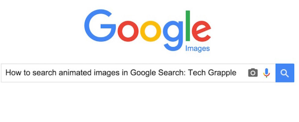 Search animated images in Google Search