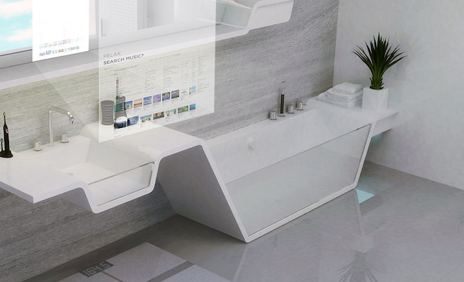 3D bathroom fittings and Smart Mirror