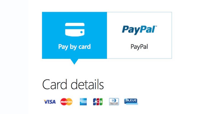 Delete Payment Method from Skype and Microsoft