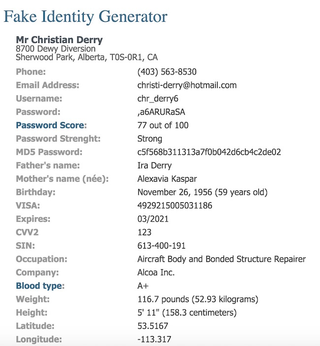 Fake ID by IgoPayGo