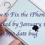 Fix for the iPhones bricked by January 1, 1970 date bug