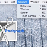 How to take a screenshot on Mac and change image format