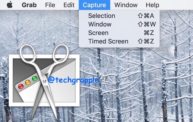 How to take screenshot on Mac OS X