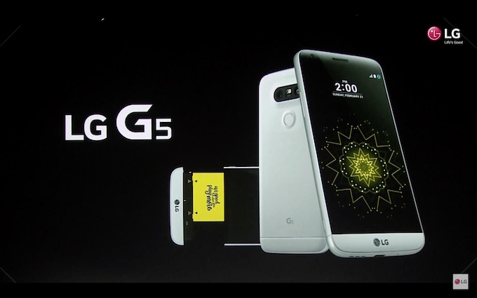 LG G5 Battery Slides