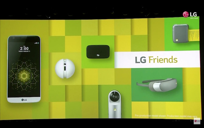 LG G5 and accesories