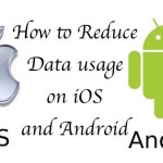 How to reduce cellular data usage on iOS and Android