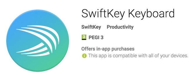 SwiftKey Keyboard Best Productive keyboards for Android Phone