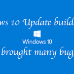 Windows 10 update Build 14279 making devices Freeze