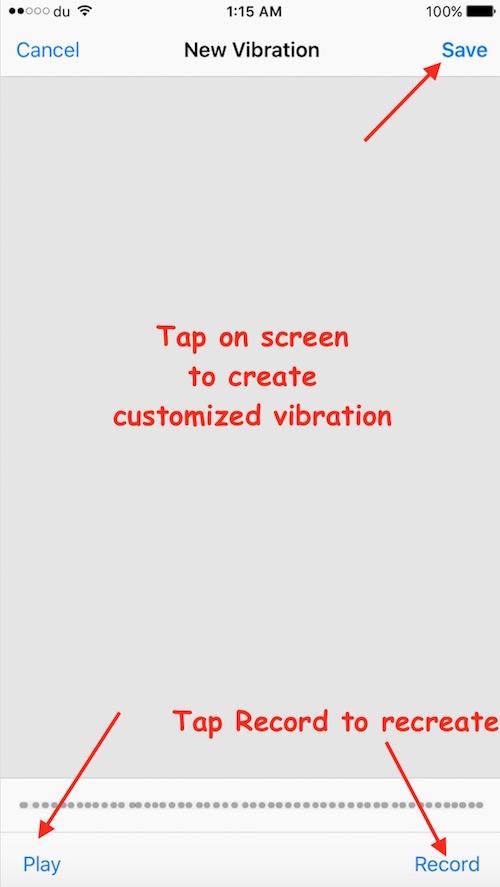 Create Vibration
