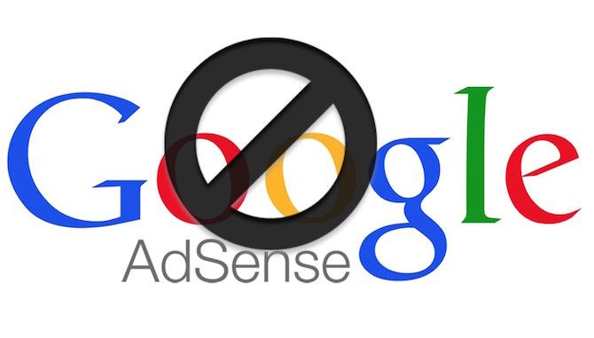 Google Adsense Blocked