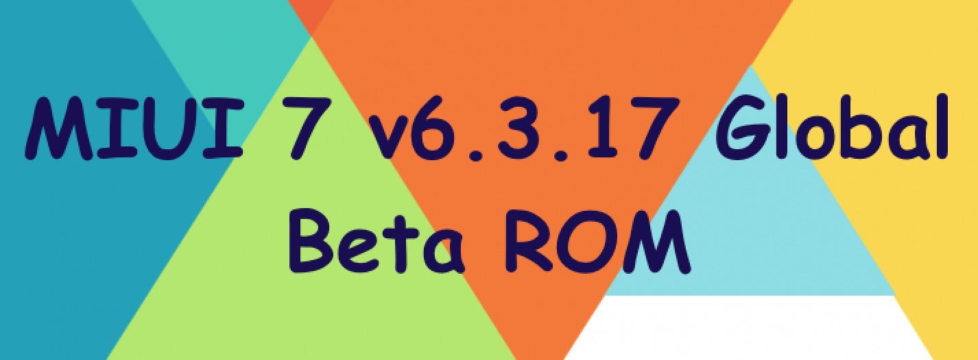 MIUI 7 Global Beta ROM