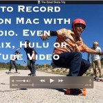 How to record video with audio on Mac using QuickTime Player