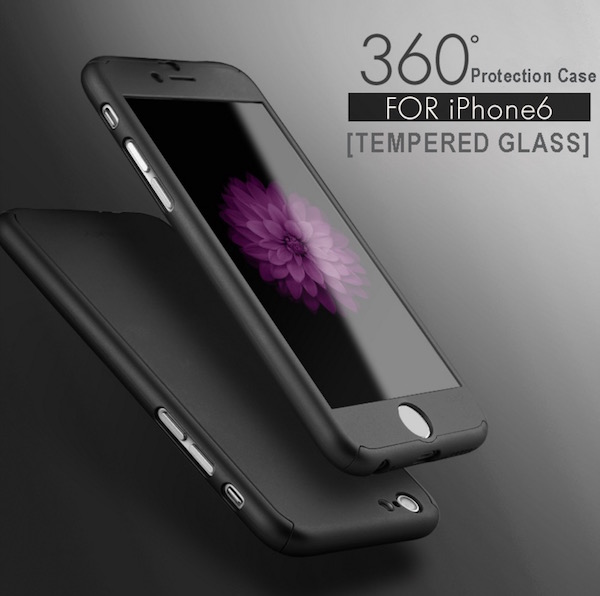 iPhone case 360 protection