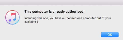 Authorization notification
