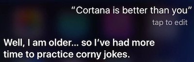 Cortana Siri