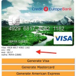 List of website to generate free fake credit card numbers
