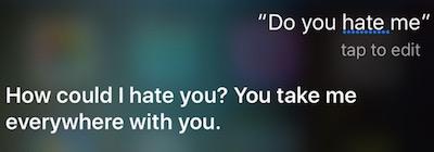 Hate Siri