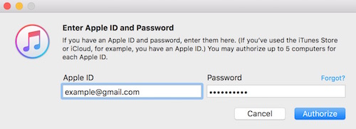 ID and Password