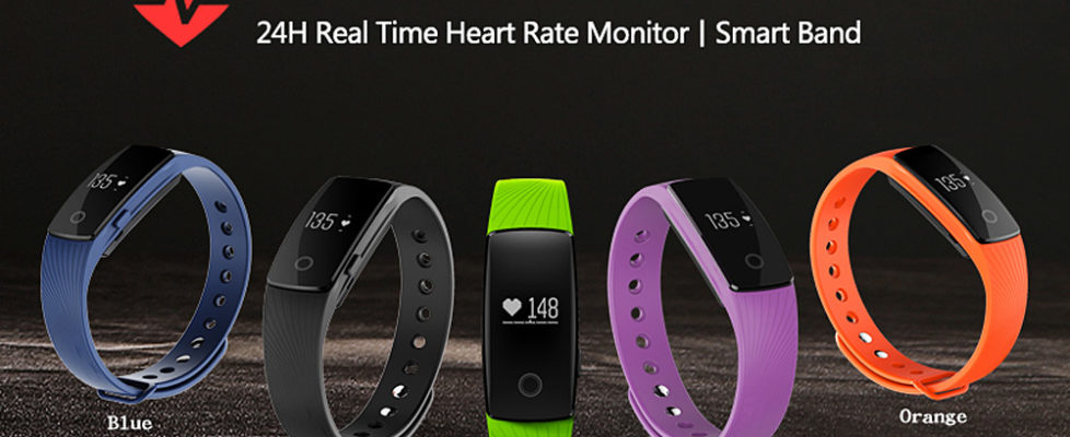 ID107 Smartwatch Wrist Band