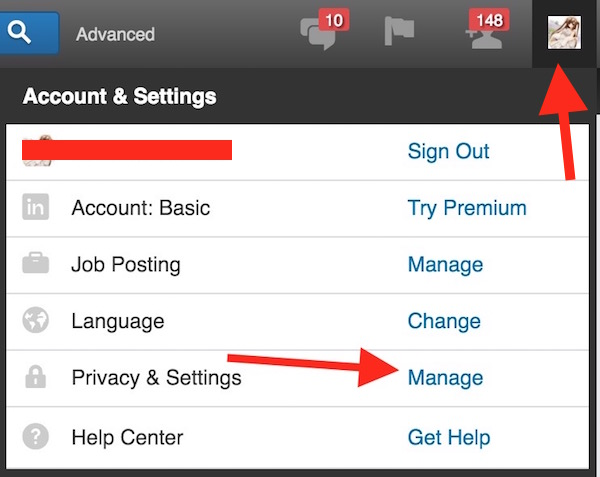 Managing Linkedin Account
