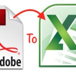 How to guide : Convert PDF to Excel or Number online for free