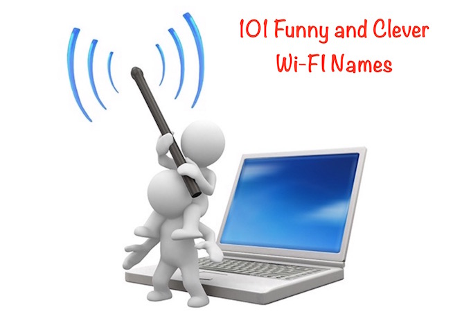 Funny clever best WiFi names