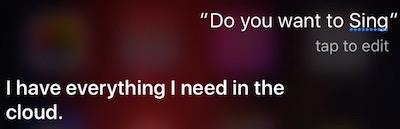 Sing Siri