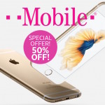 T-Mobile is offering 50% off on your second iPhone Purchase