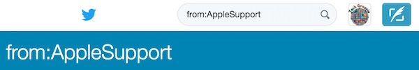 Tweets from Apple Support