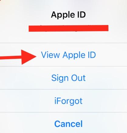 View App ID