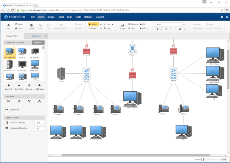 smartdraw-network-diagram