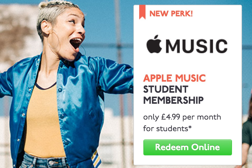 Apple Music 50 Percent Discount