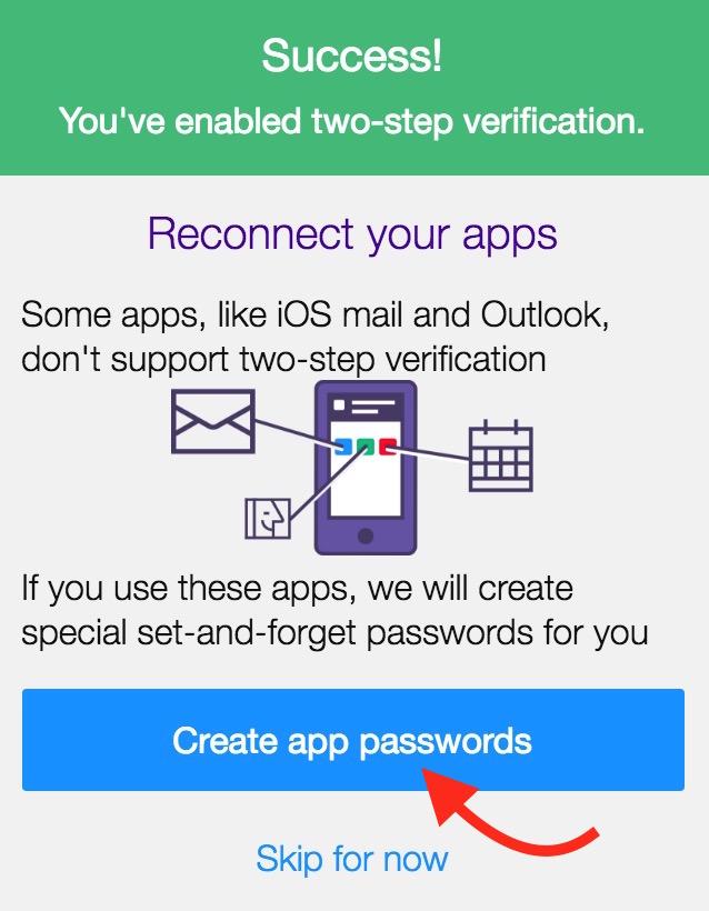 Create App Password