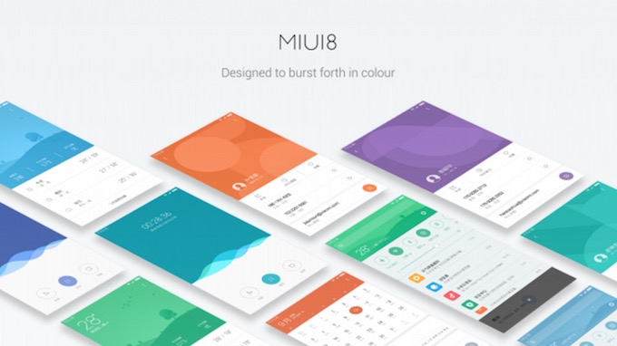MIUI 8 Color Redesigned