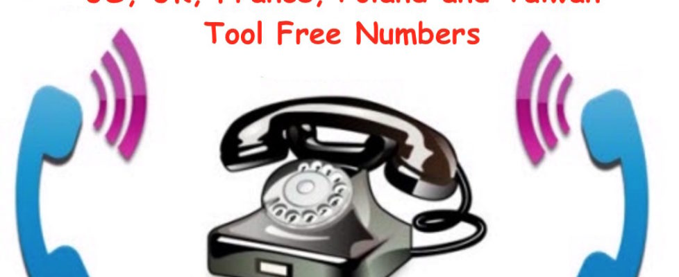 Making Calls to Toll Free Numbers